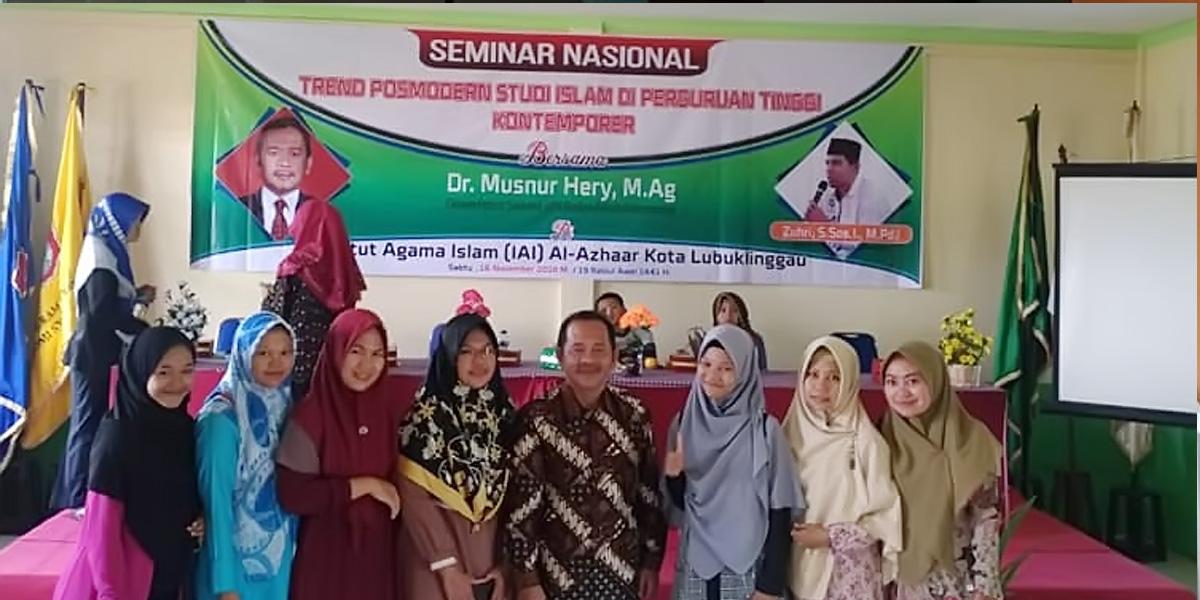 IAI Al Azhaar Lubuklinggau Adakan Seminar Nasional
